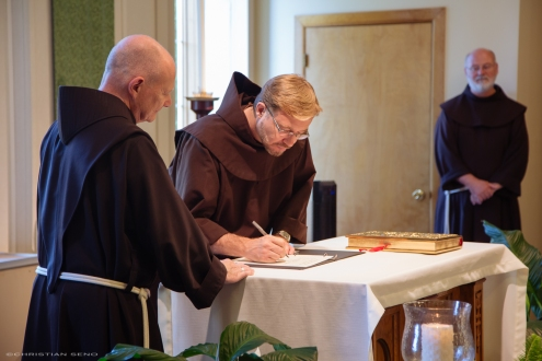 Reception into the Novitiate