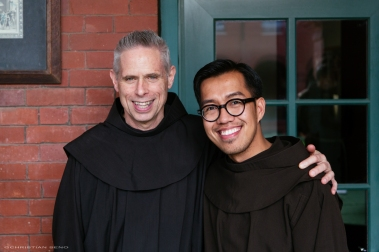 Fr. Michael Perry, OFM and me