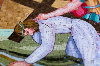 Detail (Completed Mosaic)