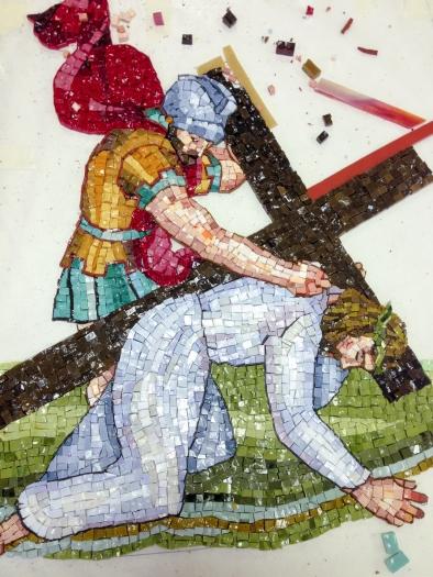 Mosaic using the Indirect Method