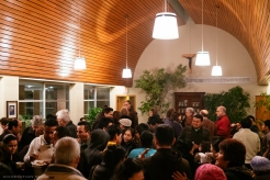 The Reception Afterwards at Holy Name College