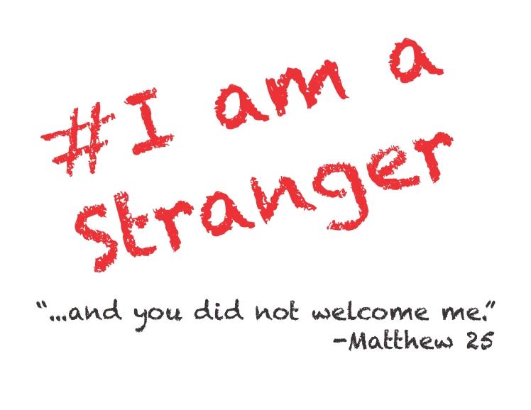 i-am-a-stranger-sign